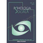 Psihologia sociala. Nr. 34 (II)/2014