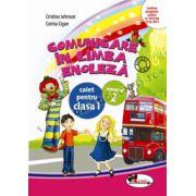 Comunicare in limba engleza. Caiet pentru clasa I, semestrul 2