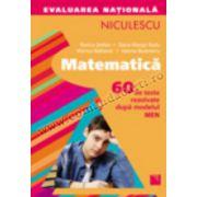Matematică. Evaluarea naţională. 60 de teste rezolvate după modelul MEN (Ştefan)
