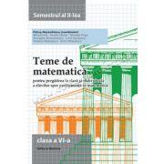 Teme de matematica cls 6 sem II 2014-2015