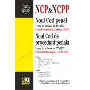 Noul Cod penal & Noul Cod de procedură penală