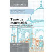 Teme de matematica cls 5 sem II 2014-2015