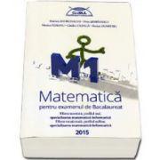 Matematica M1 pentru examenul de Bacalaureat 2015. Filiera teoretica, profilul real, specializarea mate-info. Filierea vocationala, profilul militar, specializarea mate-inf