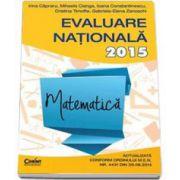 Evaluare nationala 2015 Matematica - Irina Capraru