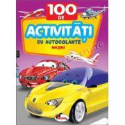 100 de activitati cu autocolante - Masini