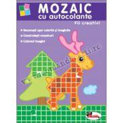 Mozaic cu autocolante - Fii creativ!
