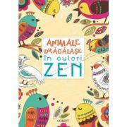 Animale drăgălaşe în culori ZEN