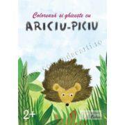 Coloreaza si ghiceste cu Ariciu-Piciu, 2+ ani