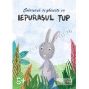 Coloreaza si ghiceste cu Iepurasul Tup, 5+ ani