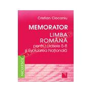 Memorator. Limba română pentru clasele 5-8 şi Evaluarea Naţională (Ciocaniu)