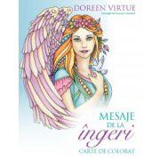Mesaje de la îngeri. Carte de colorat