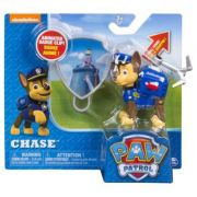 Figurina si insigna Paw Patrol-Chase(politist)