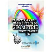 Sa invatam rapid elementele de geometrie clasele I-IV