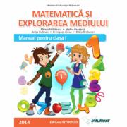 Matematica si explorarea mediului-Manual clasa I, semestrul I