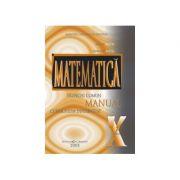 Matematica(TC+CD)-Manual pentru clasa X