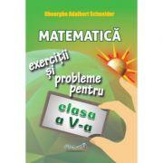 Matematica: exercitii si probleme, clasa a V-a