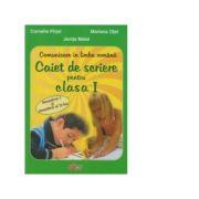 Caiet de scriere-Clasa I(Verde)