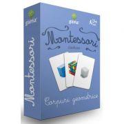 Carti de joc Montessori-Corpuri geometrice