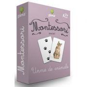 Carti de joc Montessori-Urme de animale