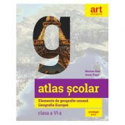 Atlas geografic scolar pentru clasa VI