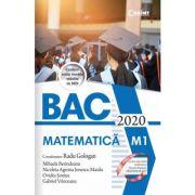 BAC 2020-Matematica M1
