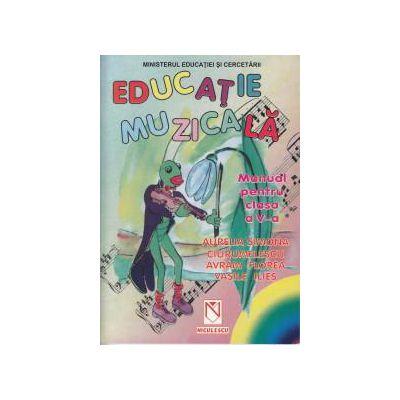 Educatie Muzicala-manual Pentru Clasa A V-a