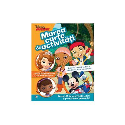 Marea carte de activităţi • Peste 125 de activităţi, jocuri şi povestioare amuzante!
