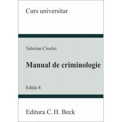 Manual de Criminologie-editia 8(2019)