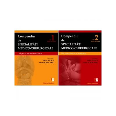 Compendiu de specialitati medico-chirurgicale(vol. I+II)