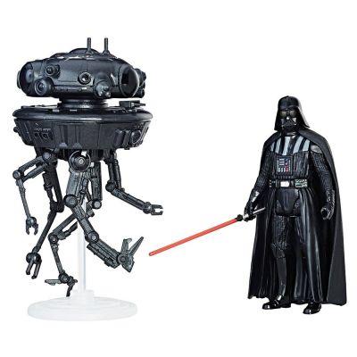 Set figurine Star Wars Force Link - Imperial Probe Droid & Darth Vader