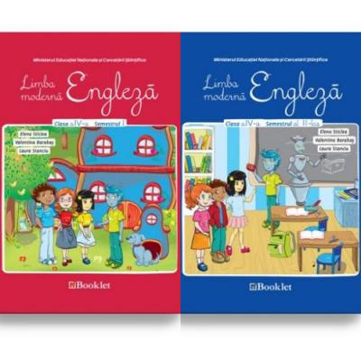 Limba moderna Engleza-Manual pentru clasa IV