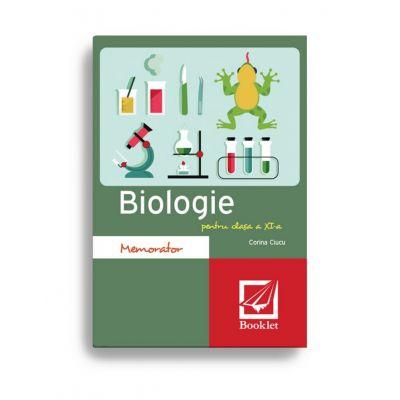 Memorator de biologie pentru clasa a XI-a