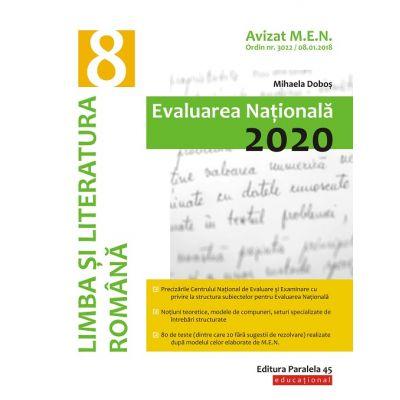 Evaluarea Nationala 2020-Limba si literatura romana pentru clasa VIII