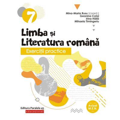 Exercitii practice de limba si literatura romana-Caiet de lucru pentru clasa VII