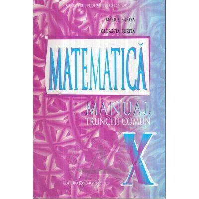 Matematica(TC)-Manual pentru clasa X