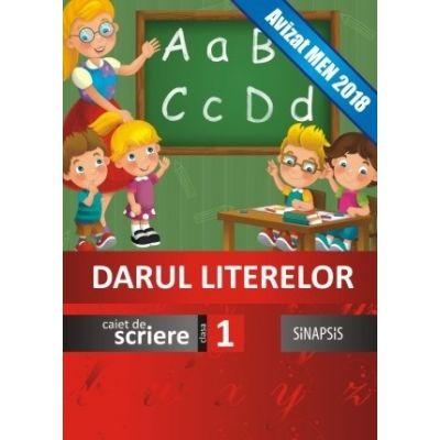 Darul literelor-Caiet de scriere pentru clasa I