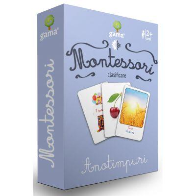 Carti de joc Montessori-Anotimpuri