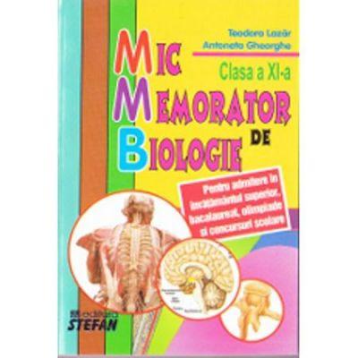 Mic memorator de biologie-pentru liceu