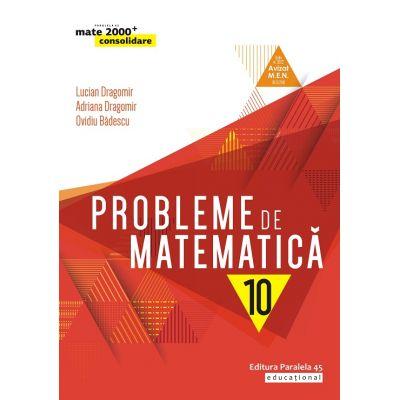 Probleme de matematica(consolidare) clasa X-Mate 2000