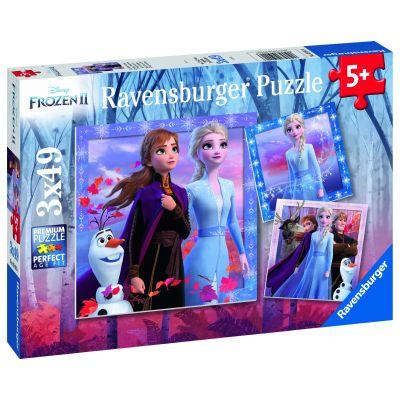 Frozen II - Puzzle 3x49 piese