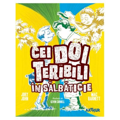 Cei doi teribili in salbaticie (vol. 3)