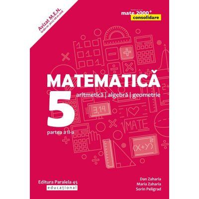 Mate 2000 Consolidare - Culegere pentru clasa V sem. II (ed. 2020)