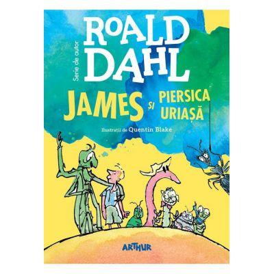 James si piersica uriasa - Roald Dahl