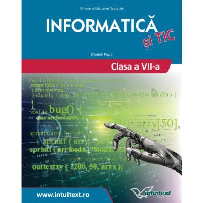 Informatica - Manual pentru clasa VII