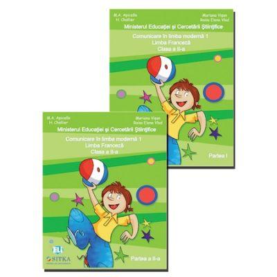 Comunicare in Limba franceza - Manual pentru clasa II (sem. I+II)